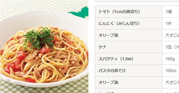 tomatotuna ひとり暮らしの方必見!家にあるもので出来る「パスタ」レシピまとめ