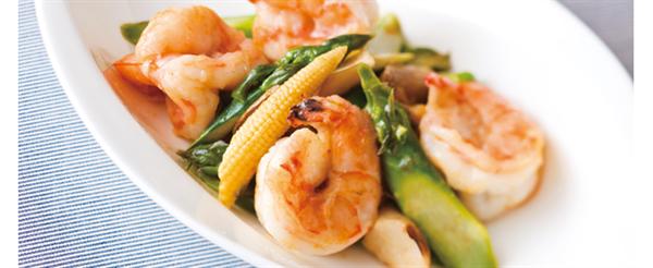 asparagusseafood