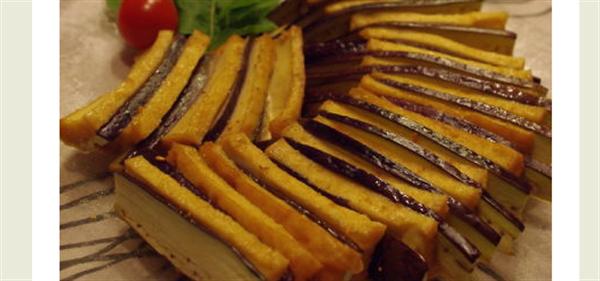 eggplantdeep-friedtofu