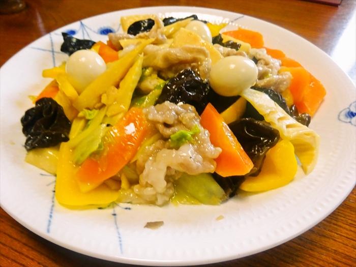 ぷりぷり豚肉の八宝菜2