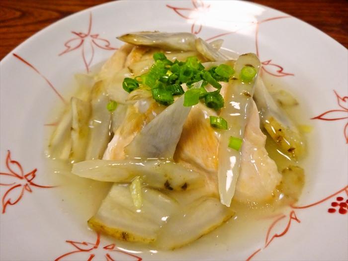 鶏肉×ごぼう1